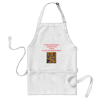 POKER gifts t-shirts Aprons