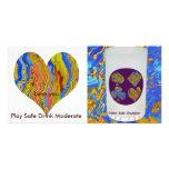 Poker Gold Champion -  Love you Card Custom Photo Card