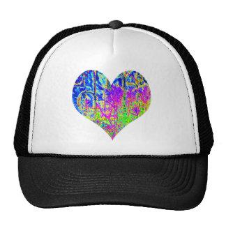 Poker Graffiti Heart Cap