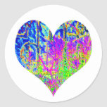 Poker Graffiti Heart Sticker