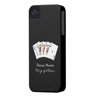 Poker Hand iPhone 4 ID Case-Mate