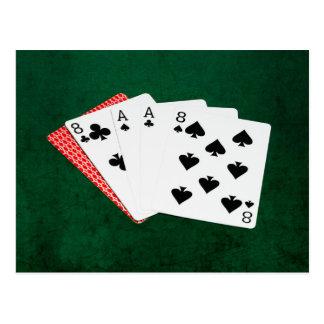 Poker Hands - Dead Man's Hand Postcard