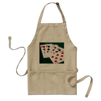 Poker Hands - Four Of A Kind - Nines and Eight Standard Apron