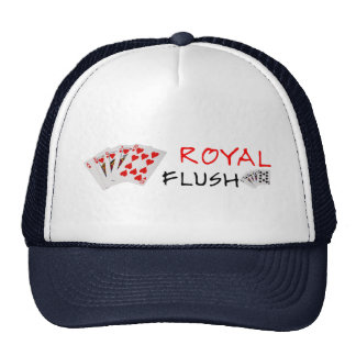 Poker Hands - Royal Flush Cap