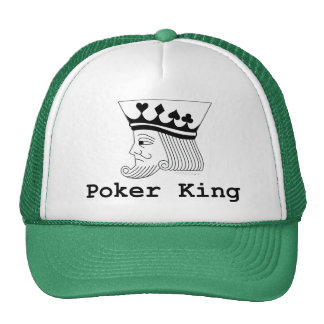 poker mesh hats