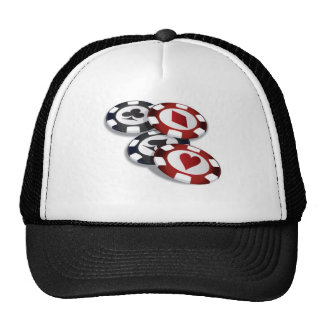 Poker Trucker Hats