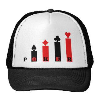 Poker Heart Cap