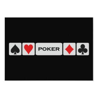 Poker invitation