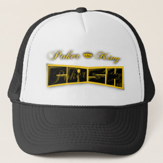 poker king cash trucker hat