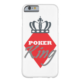 Poker King - diamond Barely There iPhone 6 Case