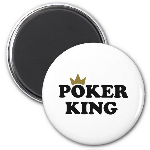Poker king fridge magnets