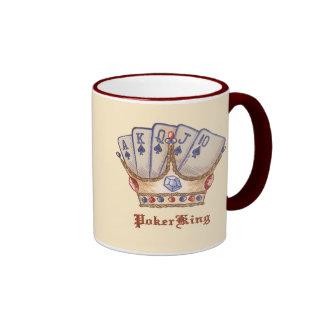 Poker King Coffee Mug