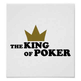 Poker king posters
