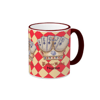 Poker King Ringer Mug