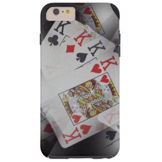Poker,_Kings,_Quads,_Tough iPhone 6/6s Plus Case