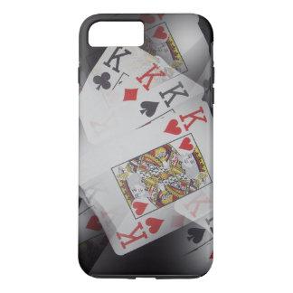 Poker,_Kings,_Quads,_Tough iPhone 7 Plus Case