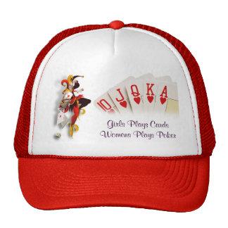 Poker Lady Mesh Hat
