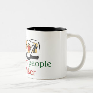 Poker Lover's two tone mug