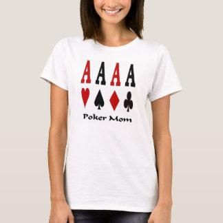 Poker Mom 4 Ace's Baby Doll Tee