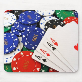 Poker Mouse Mat