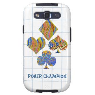 POKER Night Championship Samsung Galaxy SIII Case