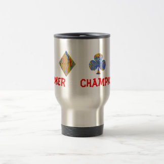 POKER Night Championship Travel Mug