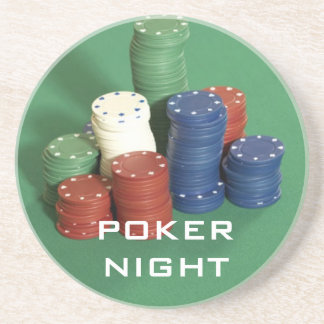Poker Night coasters