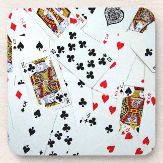 Poker Night Cork Coasters