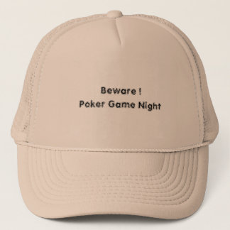 Poker Night Hat