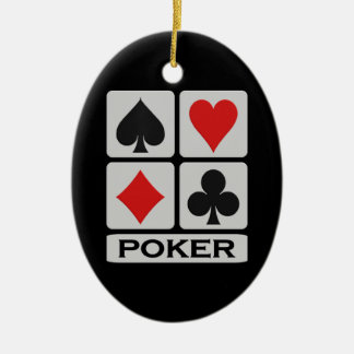 Poker ornament