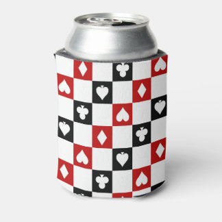 Poker party suit pattern can cooler