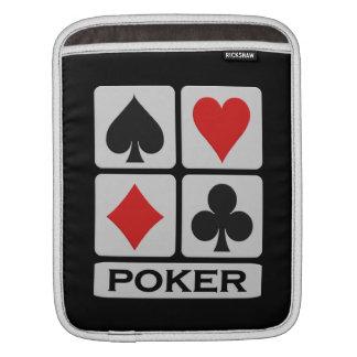Poker Player iPad / laptop sleeve Sleeve For iPads
