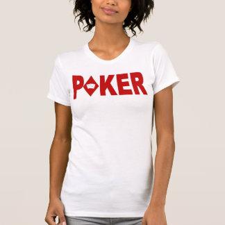 POKER Player Ladies Camisole Tshirts