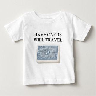 poker player lucky design tee shirts