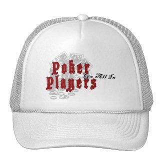 Poker Players Hat