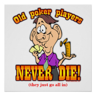 Poker Players Poster