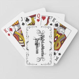 Poker Playing cards DiaDeLosMuertosDesigns