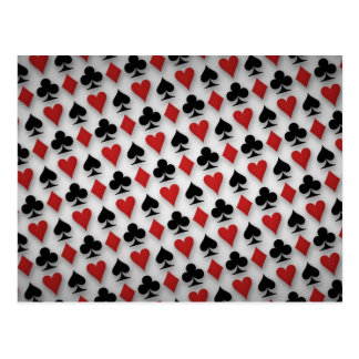 Poker Playing Cards Pattern Design