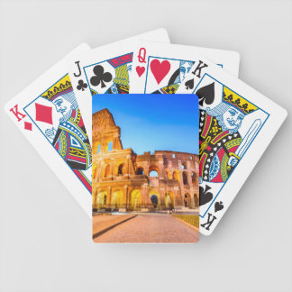 Poker Playing Cards, Rome Bicycle Playing Cards