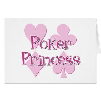 Poker Princess Card