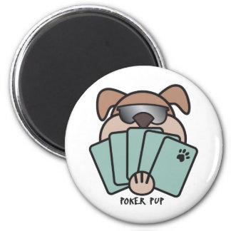 Poker Pup Magnet