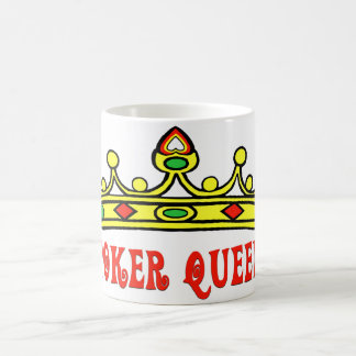 Poker Queen Coffee Mug
