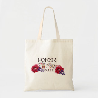 Poker Queen Collection Tote Bag