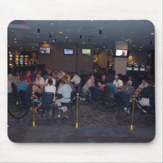 poker room mouse pad