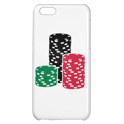 Poker Roulette chips gambling iPhone 5C Cases