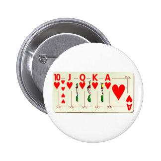 Poker Royal Flush Button
