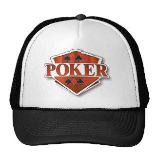 Poker Shield Trucker Hat