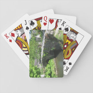Poker Size Playing Cards: Stone Bridge Picture Poker Deck