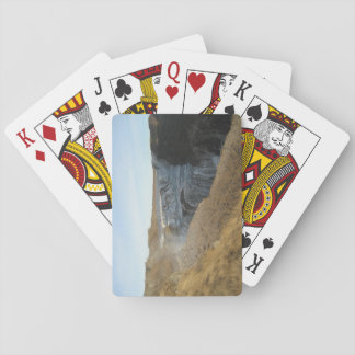 Poker Size Playing Cards With Gullfoss Waterfall
