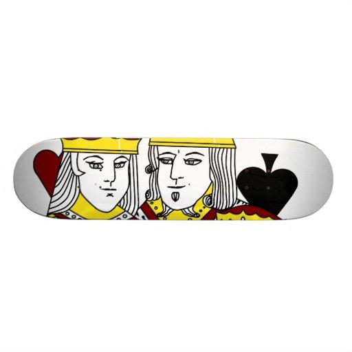 Poker Skate Board Royal Family Holdem